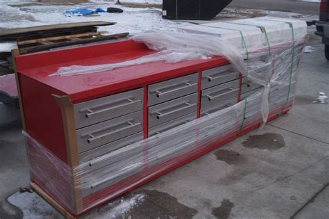 work benches with drawers 10ft 20 drawer steel workbench moorhead liquidation