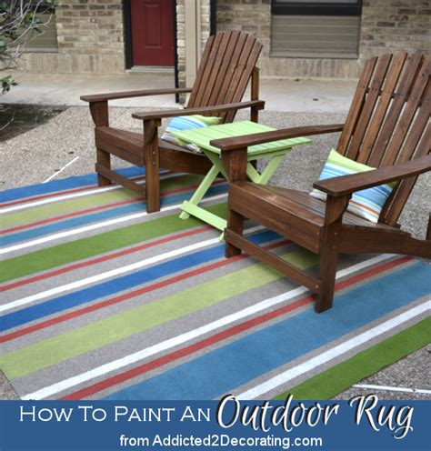 Painting An Outdoor Rug Ten Inspiring Outdoor Ideas Addicted 2 Diy