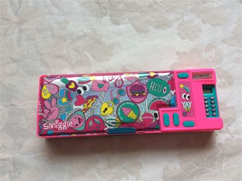 Smiggle Pencil Pink new smiggle pink says pop out pencil with calculator