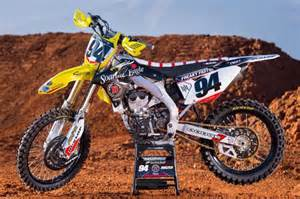 Rch Suzuki Acerbis Will Support Ken Roczen S New Team Rch Suzuki