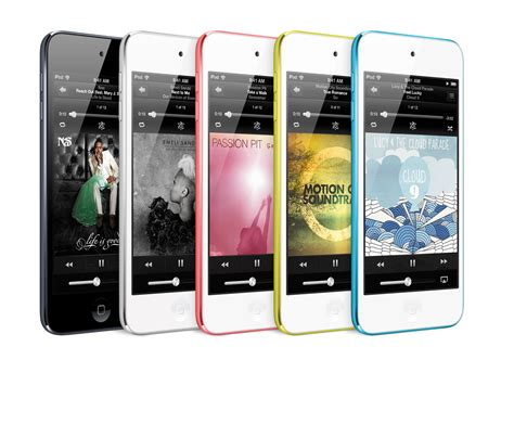 new ipod touch available in 5 colors for 299 starting