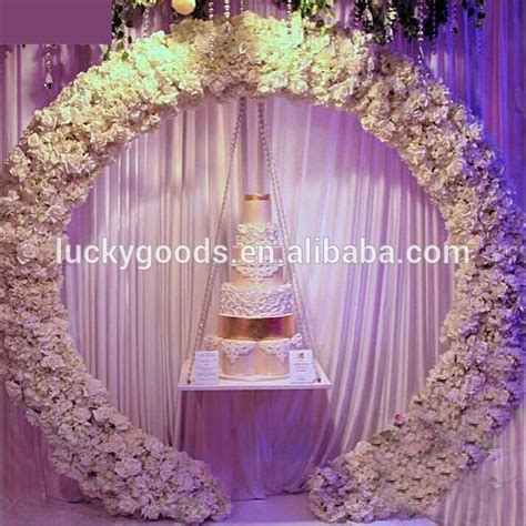 Hot Sale Fancy Metal Garden Wedding Arch For Wedding And
