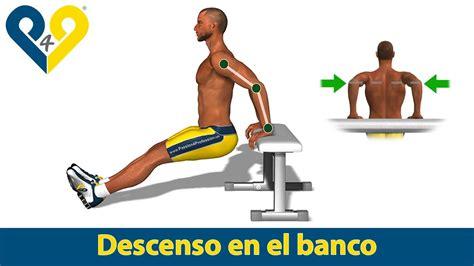 Banc A Dips by Fondos De Tr 237 Ceps Con Banco