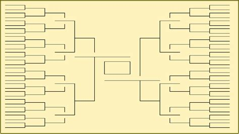 ncaa bracket template blank and printable ncaa tournament brackets for 2017