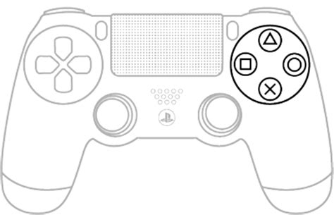 Coloring Page Xbox Controller by Ps4 Controller Drawing At Getdrawings Free For