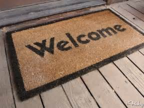welcome mat 10 ways to make your house guests love you forever the frisky