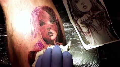 tattoo girl youtube tattoo girl with gun youtube