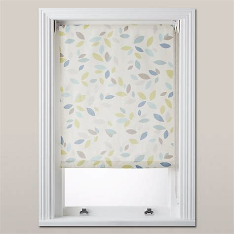 john lewis bathroom blinds buy john lewis scattered leaves blackout roller blind