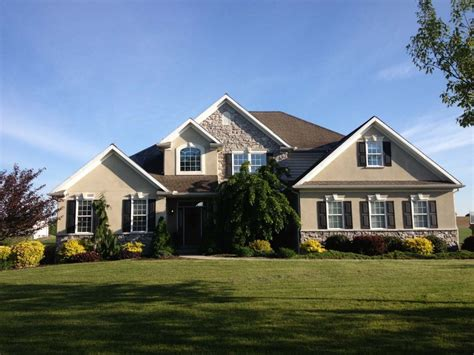 beautiful new home custom designed in manheim dombach