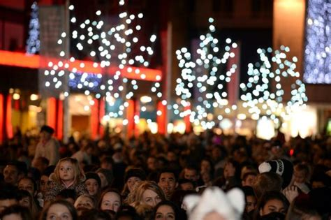 coventry christmas lights switch on moves to a wednesday