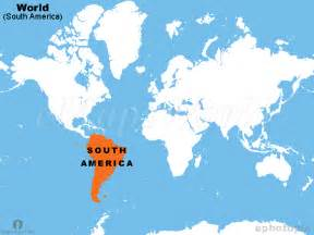 south america location map location map of south america