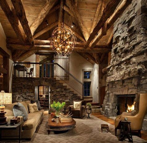 rustic family room 55 airy and cozy rustic living room designs digsdigs