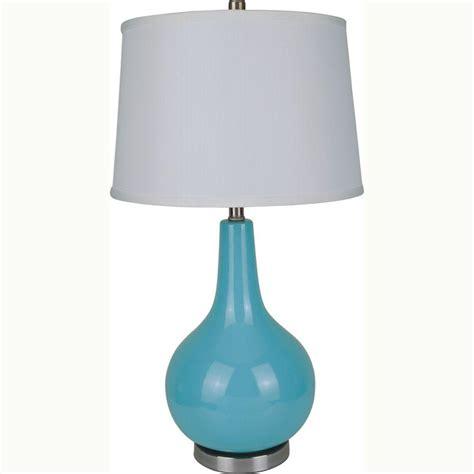 blue ceramic table ls ore international 28 in ceramic blue table l 6202bl