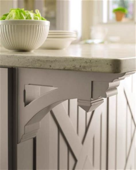 corbel on kitchen island home sweet home pinterest see the quot ornate small corbel martha stewart living seal