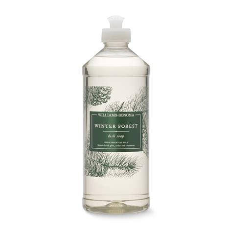 Rainforest Dishwash Soap williams sonoma winter forest dish soap 20oz williams sonoma