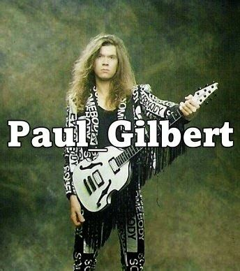 Baju Gitaris Paul Gilbert Mr Big rumah gitar paul gilbert