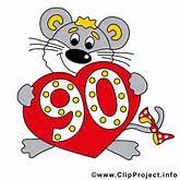 90 Jubiläum Bild gratis