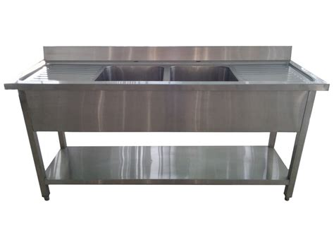 free standing kitchen cabinet with double bowl sink stainless sink unit stainless steel sink unit sinks and