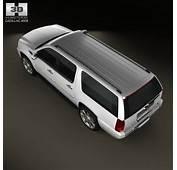 Cadillac Escalade ESV 2011 3D Model  Hum3D