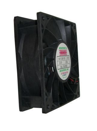 high cfm 120mm fan mechatronics 120x120x38mm high cfm fan md1238x12b coolerguys