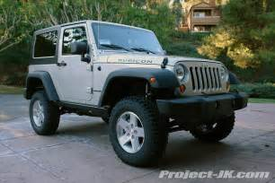 Jeep Jk 3 Inch Lift Photos Lifts With Stock Rubicon Tires