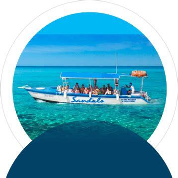 glass bottom boat grenada caribbean water sports activities sandals