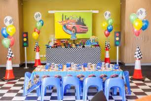 Party ideas hot wheels car birthday party kara s party ideas