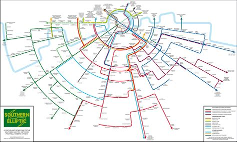 design expert alternative an alternative map of south london train routes