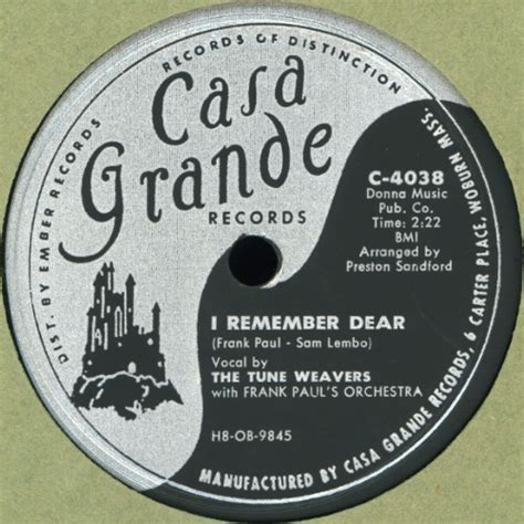 Casa Grande Records The Vocal Harmony Web Site Record Of The Week