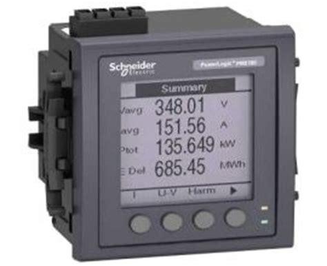 Power Meter Schneider Metsepm 2210 Schneider schneider pm5110 powermeter w modbus upto 15th h 1do 33alarms flush mount