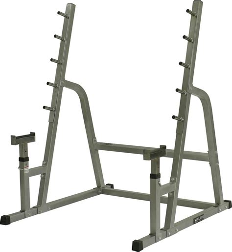 bench in squat rack valor safety squat combo rack