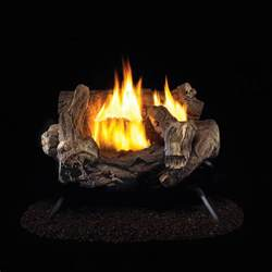 18 quot ventless gas log set 32 000 btu procom heating