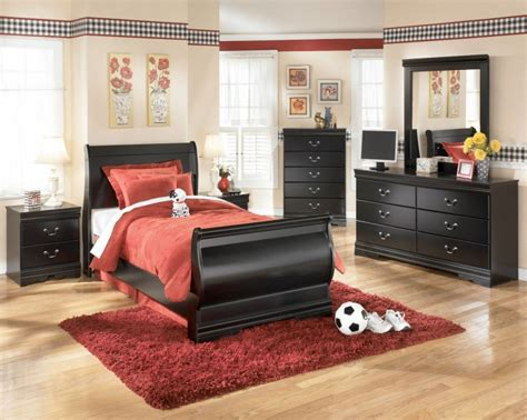kids black bedroom furniture traditional kids bedroom design with ashley huey vineyard