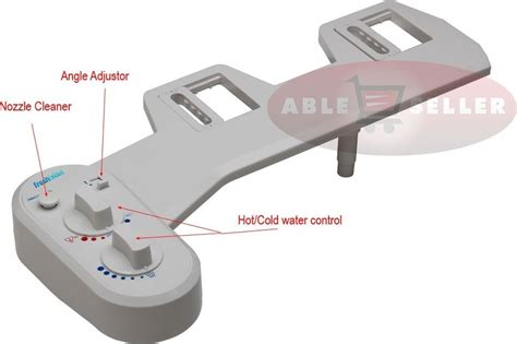 Bidet Conversion Fresh Warm Water Non Electric Adjustable Angle Bidet