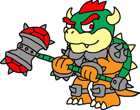 Kaos Mario Bros Mario Bros 30 hammer slam bowser by blackrhinoranger on deviantart
