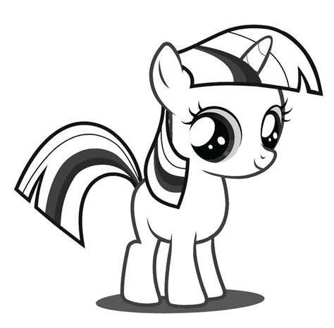 baby twilight sparkle coloring page   pony