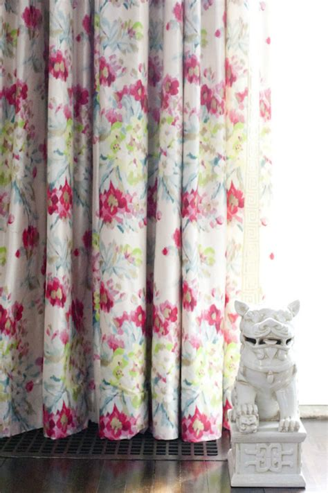 white curtains with flowers floral curtains design ideas