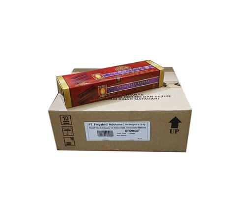 Tulip Chocolate Batons 52 1 5kg jual coklat stick batons tulip 1 5 kg grosir eceran