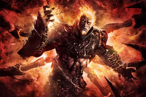 gods of war god of war ascension fire demon wallpapers and images