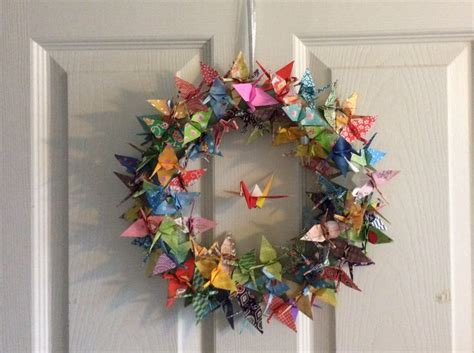 Origami Crane Decoration - best 25 origami cranes ideas on paper cranes