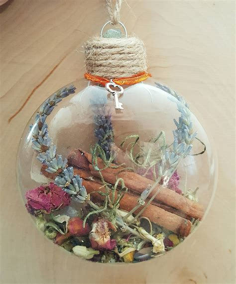 pagan christmas decorations new home blessing ornament witch herbal blessing