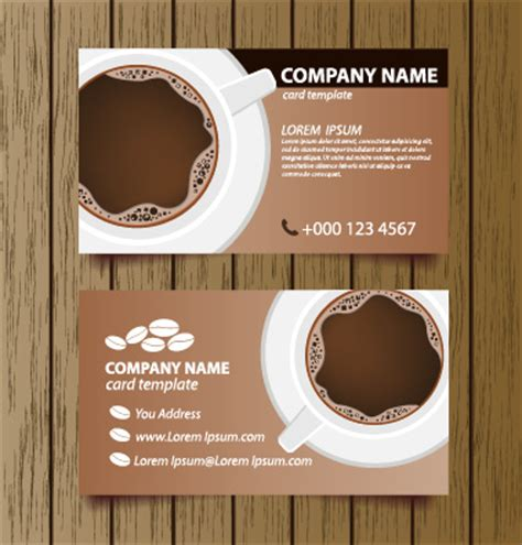 business card graphics books coffee creative coffee house business cards vector graphic free