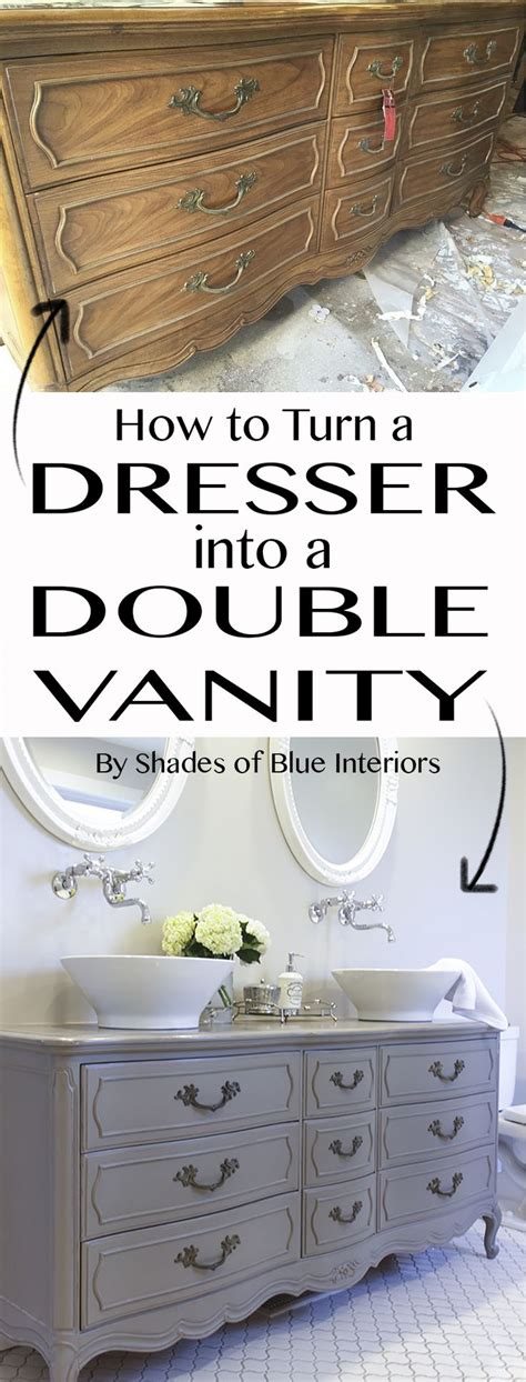 how to make a dresser into a bathroom vanity 1000 ideas about double vanity on pinterest single