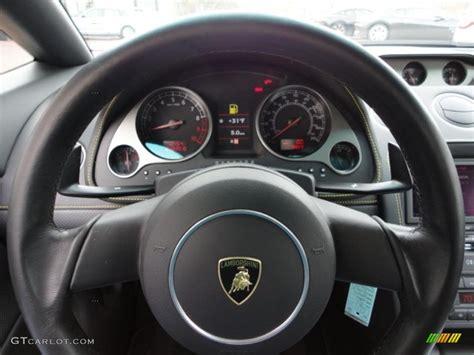 2006 lamborghini gallardo spyder steering wheel photos