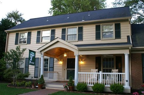 Front Porches On Colonial Homes colonial google search home improvement ideas pinterest home