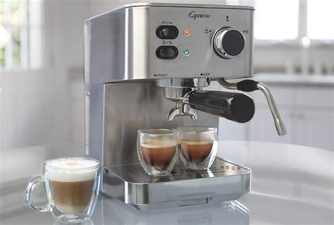 home espresso machine put to the test capresso