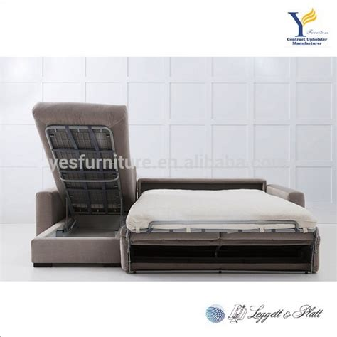 l sofa bed wooden l shaped sofa bed with storage buy wooden l