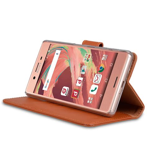 Melkco Premium Leather Wallet With Card Slot Sony Xperia Z sony xperia x mobile cases cellphone genuine