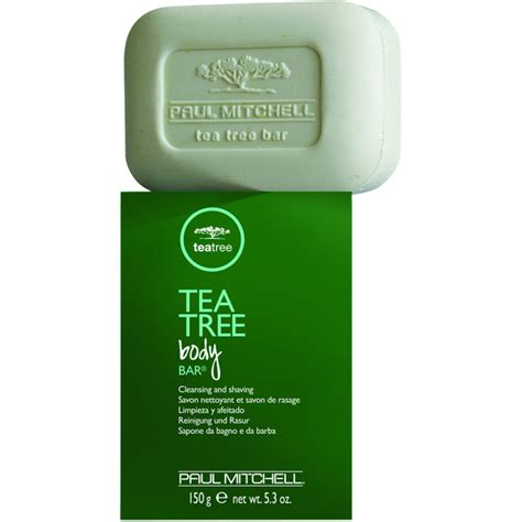 Paul Mitchell Tea Tree Shoo 246 by Paul Mitchell Tea Tree Bar 150g Free Shipping