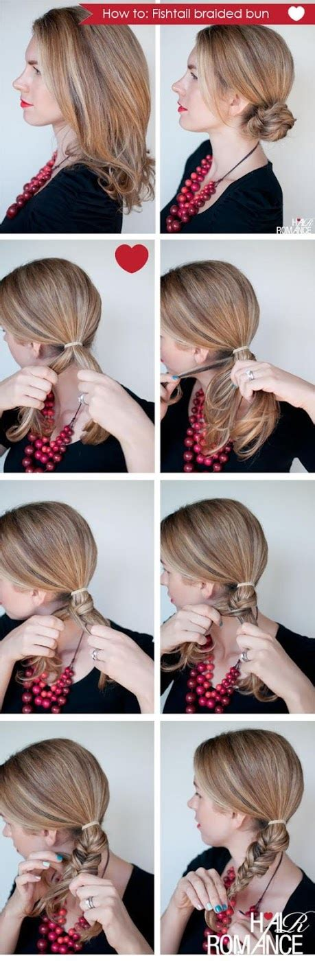 make a fishtail braid wikihow make a fishtail braid wikihow hairstylegalleries com
